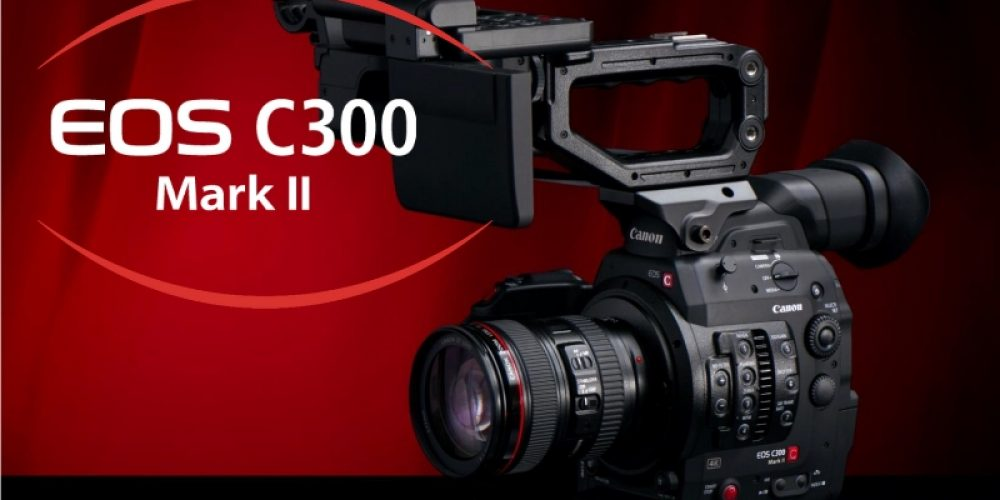 Canon Refreshes the C300 with the C300 Mark II