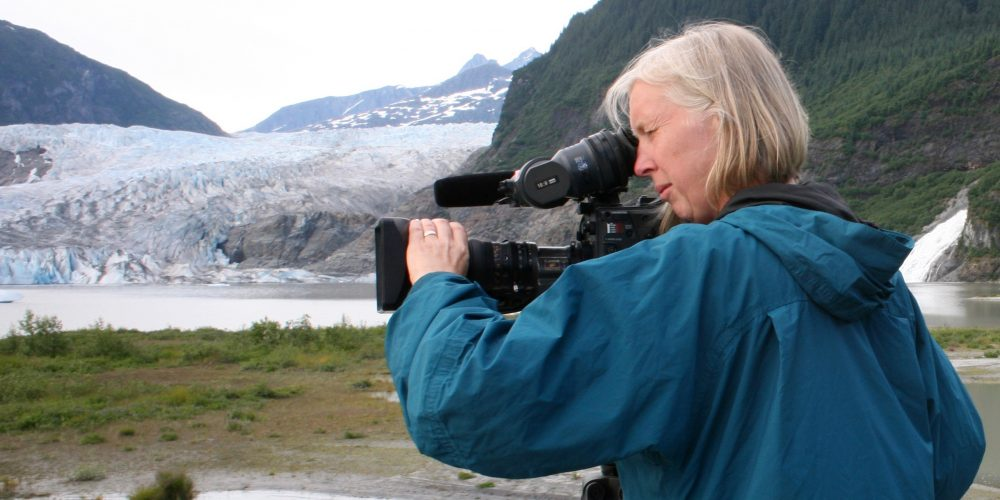 """Ep 25 – Claudia Raschke, cinematographer for """"RBG"""" talks about her latest project, and 3+ decades of television and feature films."""